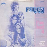 Cover Fanny [1970s] - I've Had It
